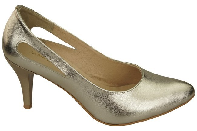 Women's shoes Pumps Natural leather 166 ElitaBut