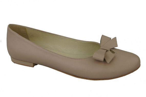 Shoes Ballerinas Women's natural leather 998 ElitaBut