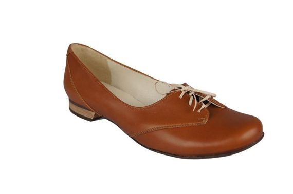 Women's Ballerinas Shoes Natural Leather 700 ElitaBut